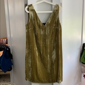 BNWT French Connection velvet 20s dress size 8